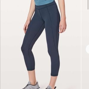 Lululemon Time to Sweat Crop 23""